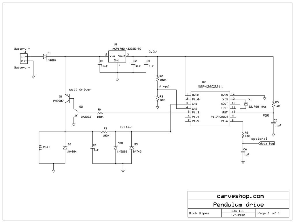 Using An Mcu To Maintain A Wood Gear Wall Clocks Accuracy Ee Times One Transistor Code Lock By 2n2222 Click Here See Larger Image
