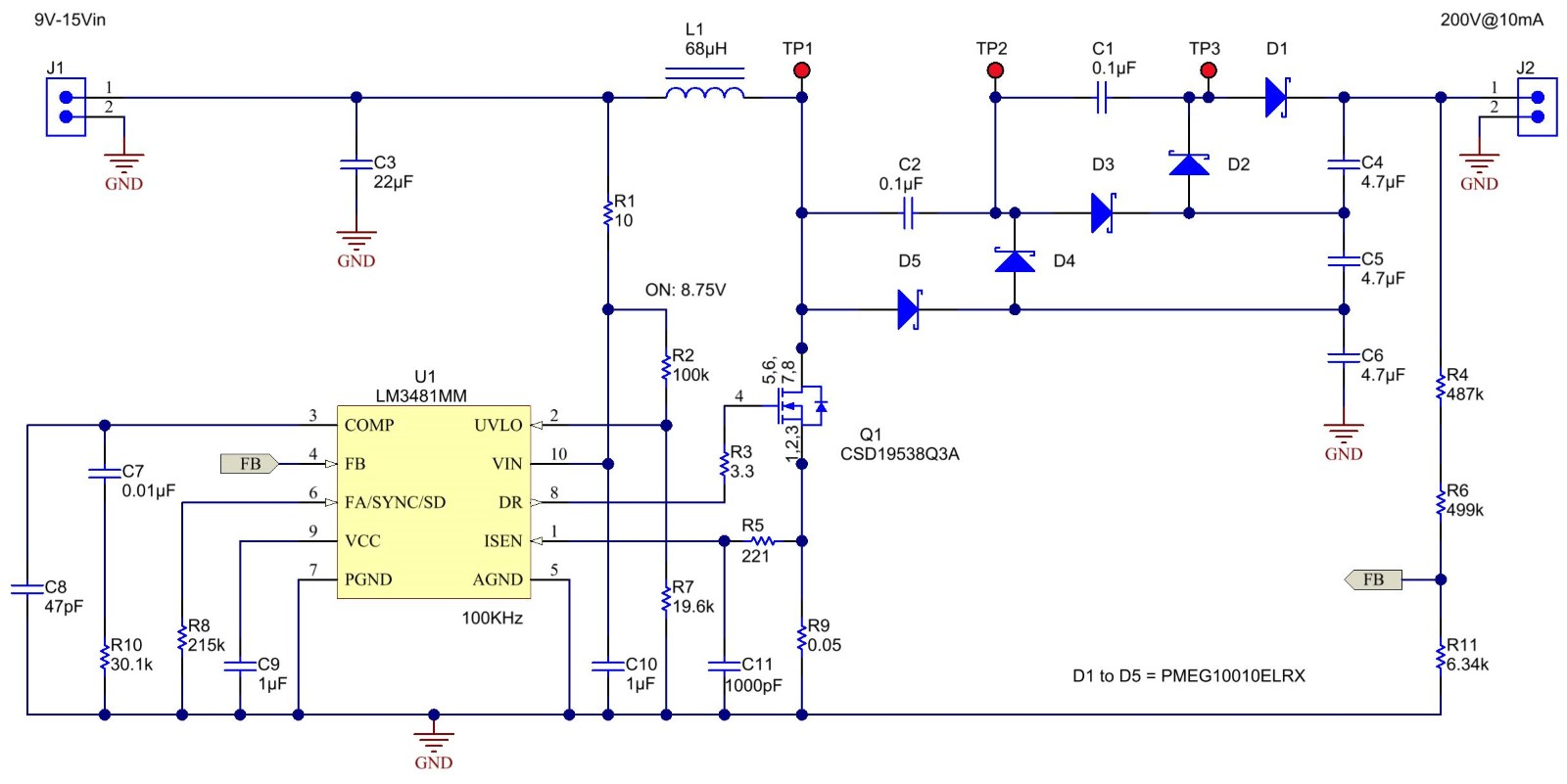 Increase Output Voltage With A Multiplier Ee Times Dc Boost Converter Circuit Moreover On Tripler Reduces Component Stress